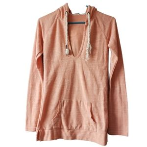 ROXY Coral Hooded Long Sleeves Tunic